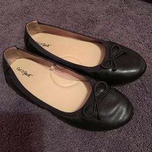 Other - Cat & Jack Girl's Black Flats - Size 3
